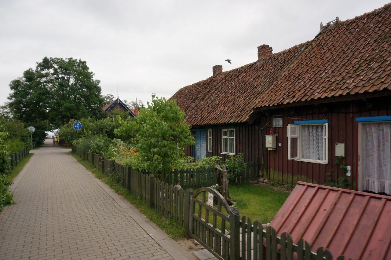 Добравшись до Клайпеды